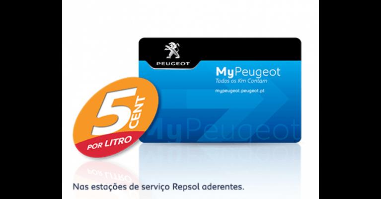CARTÃO MYPEUGEOT