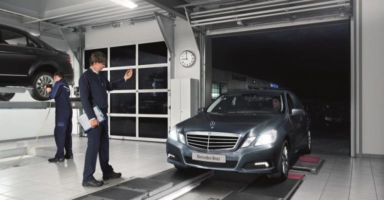 Inspeção Periódica Obrigatória - Mercedes