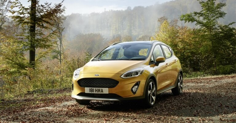 Ford Fiesta Active €95/mês