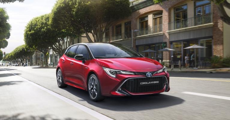 Novo Corolla Hybrid