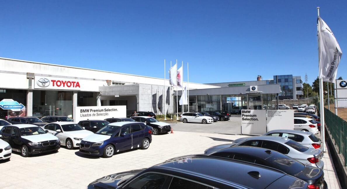BMW e Toyota agora são MCoutinho Motors Viseu