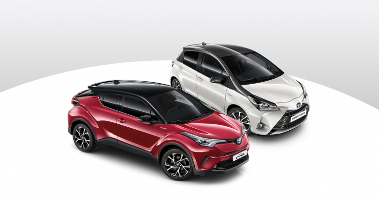 Toyota C-HR e Yaris