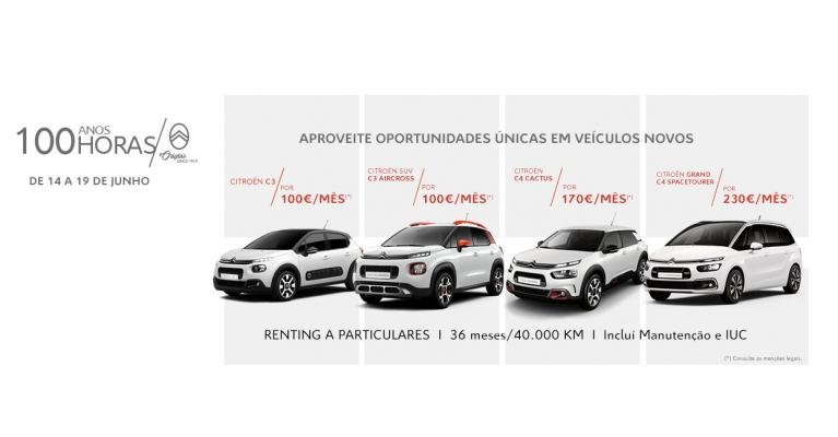 Citroën 100 anos, 100 horas