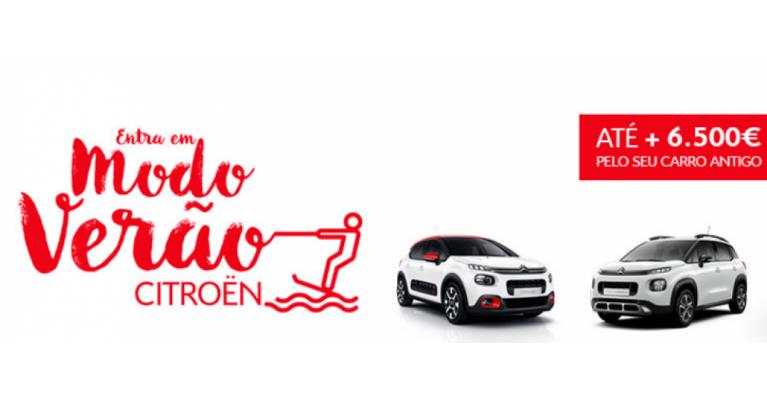 Entra em modo de verão com a Citroën