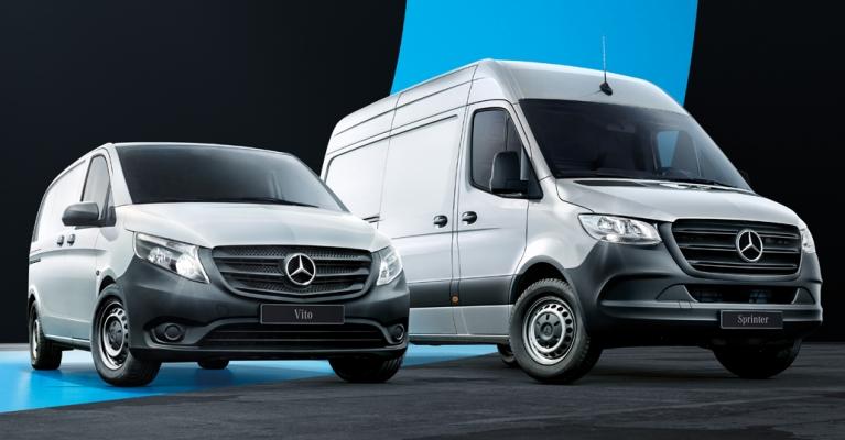 Comerciais Mercedes-Benz