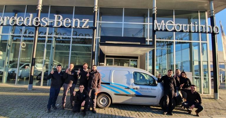 MCoutinho Oficina Autorizada Mercedes-Benz em 1º lugar na satisfação do cliente
