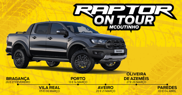 Ford Ranger Raptor On Tour