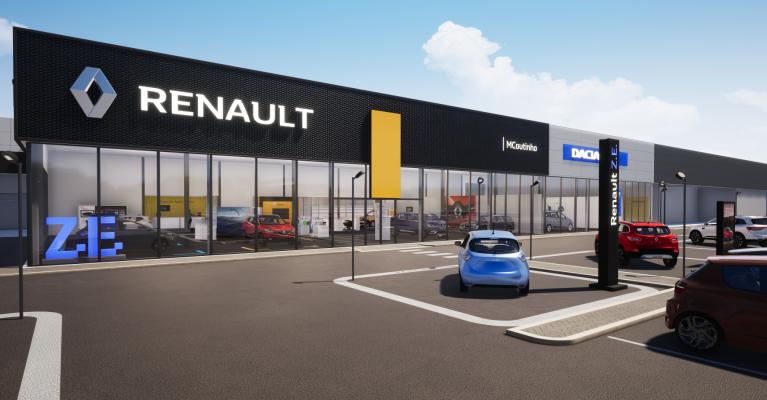 Nova Concessão Renault e Dacia em Leiria