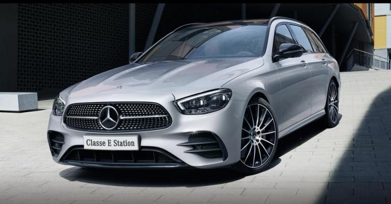 Nova geração Mercedes-Benz Classe E