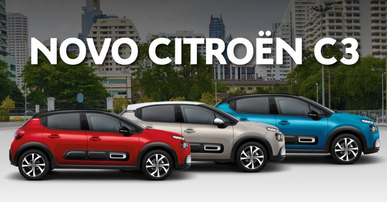 O novo Citroën C3 é a sua cara
