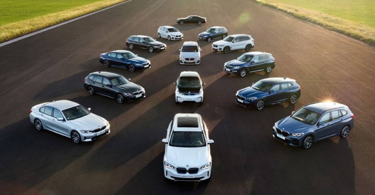 GAMA DE MOBILIDADE ELÉTRICA BMW