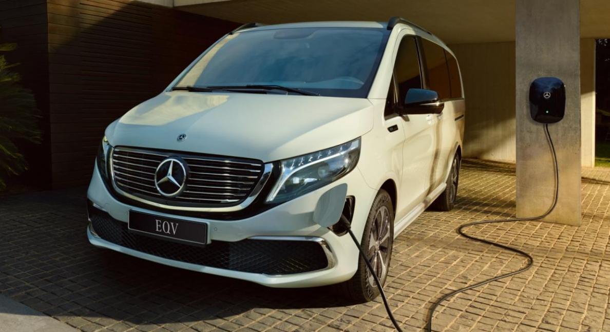 Novo Mercedes-Benz EQV