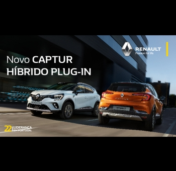 Novo Renault CAPTUR E-TECH Híbrido Plug-in