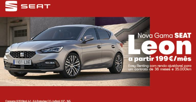 Nova Gama SEAT Leon