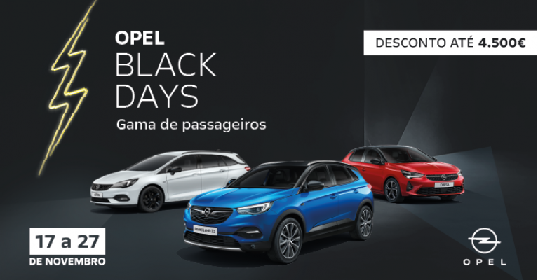 OPEL BLACK DAYS
