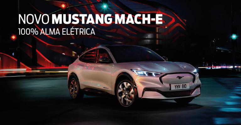 Novo Ford Mustang Mach-E