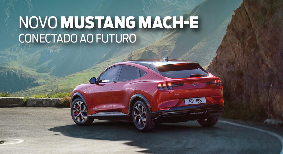 Ford Mustang Mach-E: Conectado ao futuro