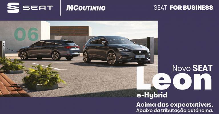 Novo SEAT Leon e-Hybrid Edição Fiscal