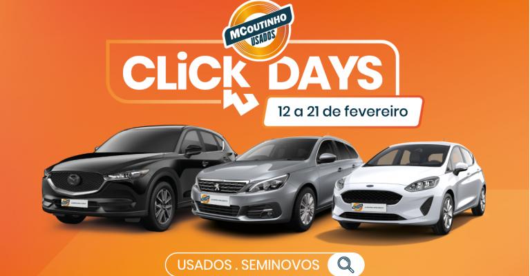 CLICK DAYS MCOUTINHO USADOS