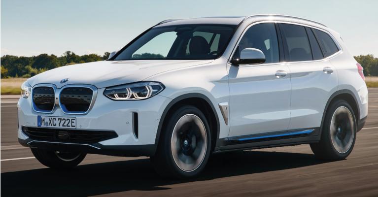 Novo BMW iX3