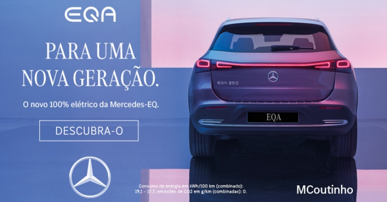 EQA. O novo SUV citadino elétrico da Mercedes-EQ.