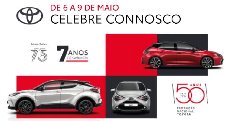 De 6 a 9 de maio celebramos a Toyota