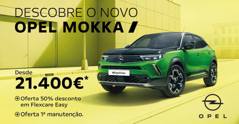 Venha descobrir o novo Opel Mokka