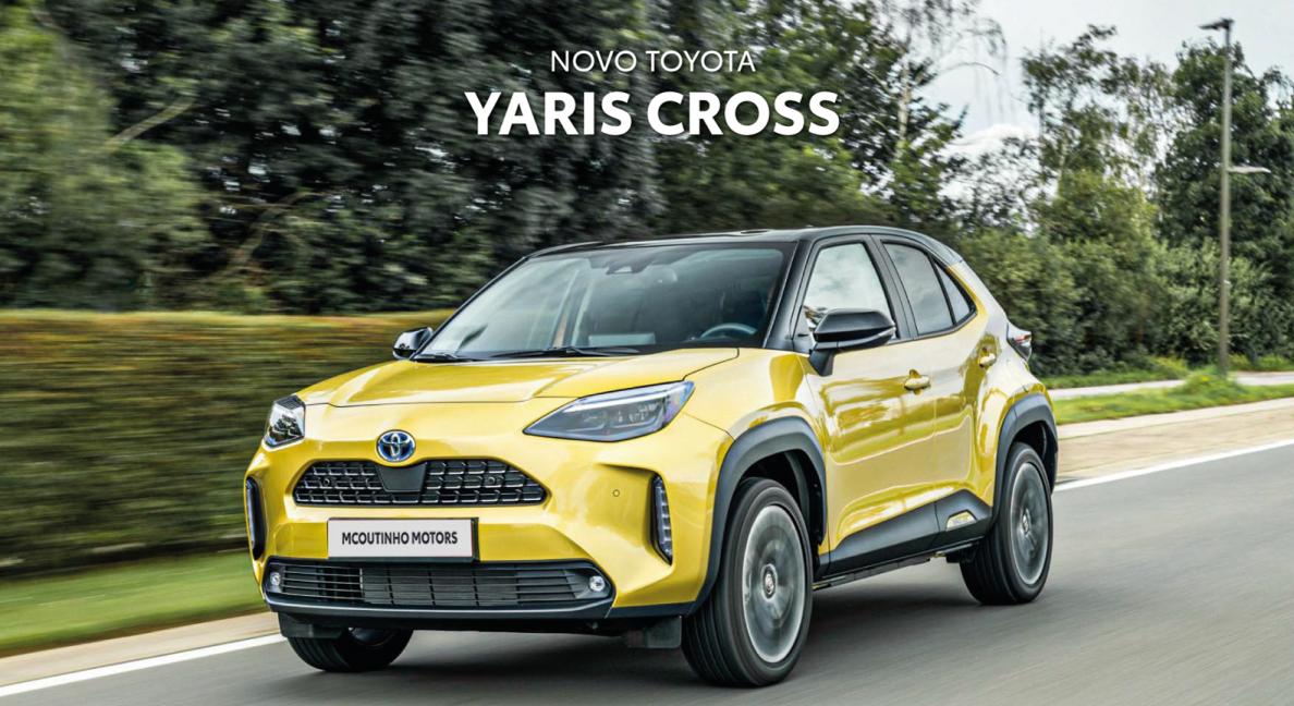Novo Yaris Cross Hybrid